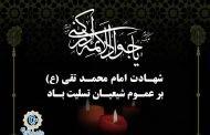 شهادت مظلومانه نهمین بحر کرامت، حضرت جواد الائمه، محضر حضرت حجت(عج) و همه محبین حضرتش تسلیت باد.
