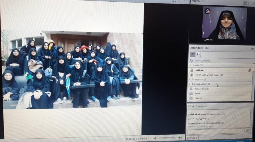 جشن فارغ التحصیلی دوره ۹ هنرستان