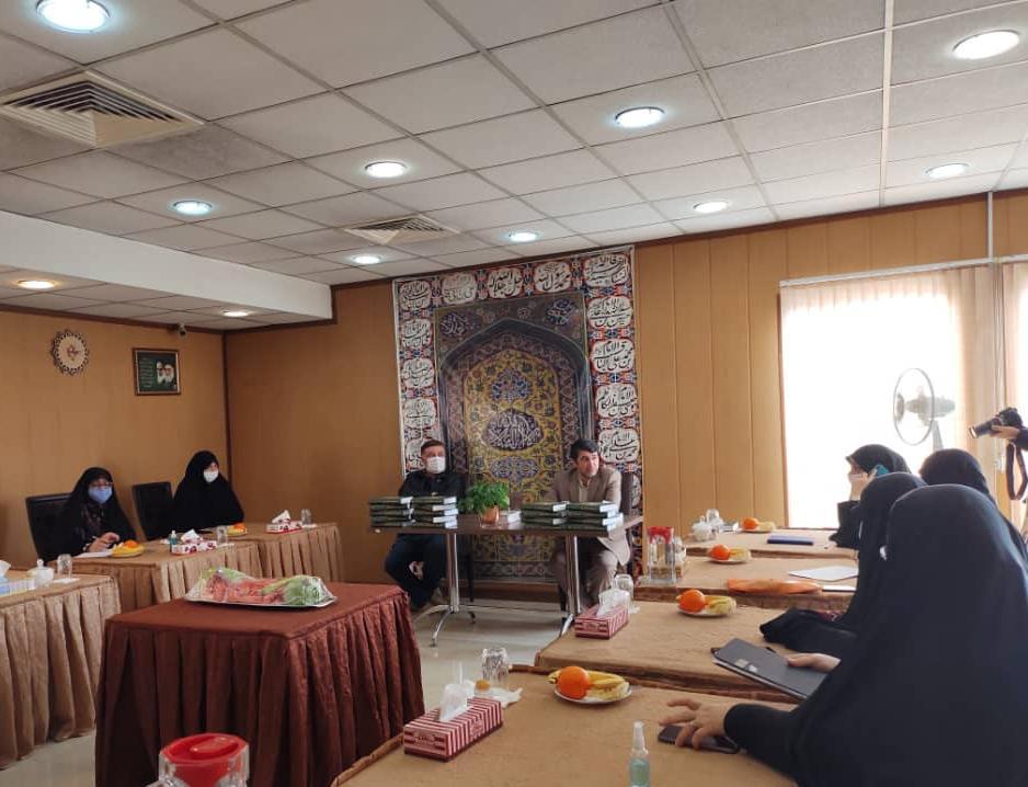 برگزاری جلسه شورای مدیران