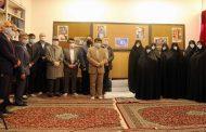 حضور مدیران بنیادفرهنگی رفاه در اتاق امام(ره)، مدرسه رفاه