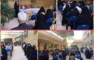 جلسه معارفه ورودی پایه یازدهم دبیرستان دخترانه رفاه