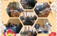 اولین نشست تخصصی دوره اول دبستان دخترانه و پسرانه بنیاد فرهنگی رفاه با حضور مدیران محترم هر دو مقطع، معاونین و معلمین، با هدف یکسان سازی اهداف طرح درسها و تهیه کتاب کار مشترک (درس ریاضی) برگزار گردید.