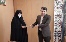 مدیر جدید دوره دوم دبیرستان دخترانه رفاه معرفی شد