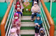 حضور نوآموزان پیش دبستانی در مدرسه