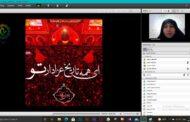 برگزاری مراسم سوگواری سرور و سالار شهیدان آقا ابا عبدالله الحسین در فضای ادوبی کانکت