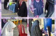 حضور دختران پایهی اول دبستان دخترانه رفاه در مدرسه