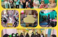 حضور دانش آموزان پیش دبستان یک در مدرسه