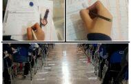 برگزاری اولین مرحله از آزمون های آزمایشی گزینه دو در دبیرستان دخترانه رفاه